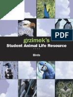 Grzimek's SALR - Birds