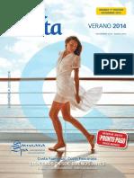 Cuadriptico Costa Cruceros 2013-2014