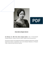 Dona Aurora Aragon Quezon