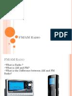 FM AM Radio