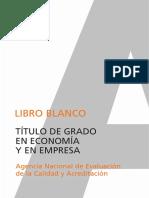 Libroblanco_titulo de Grado Economia_2005
