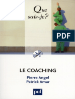 Que sais-je¿ Le Coaching - Patrick Amar & Pierre Angel.epub