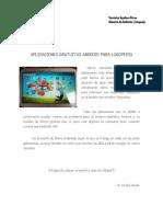 Tablet Aplicaciones Logopedia
