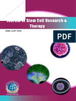 Journal of Stem Cell Research Therapy Flyer