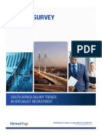 Michael Page South Africa Salary Survey
