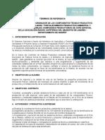 Terminos de Referencia - Raices Cafeteras - Linares