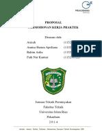 Proposal KP Teknik Perminyakan UIR