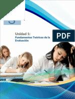Unidad 1 - Fundamentos Teóricos de La Educación