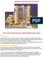 Civic Center for Municipal Corporation of Delhi,