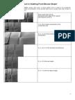 Procedure in Drafting Front Blouse Sloper