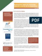Info s/Situación Laboral y Social - Argentina - Junio 2008