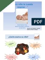 Dificultad respiratoria en pediatría