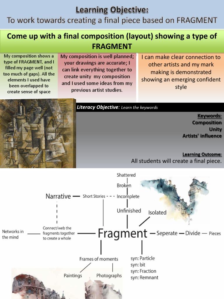 Fragments 1 Mindmap
