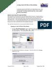CDOT ConvertingCDOT Converting AutoCAD Files to MicroStation AutoCAD Files to MicroStation