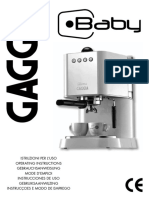 Gaggia Baby MANUAL