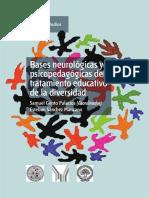 Bases Neurológicas y Psicopedagógicas Del Tratamiento Educativo de La Diversidad de Samuel Gento Palacios y Esteban Sánchez Manzano