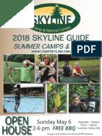 2018 Skyline Program Guide