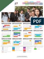 Calendario Escolar 2017 2018 TEBAEV