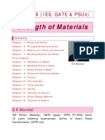 Strength of Materials 2018 by S K Mondal