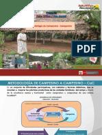 METODOLOGÍA DE CAMPESINOS A CAMPESINO -  EN PROYECTOS HW/ NOA JAYATAI