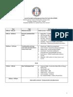 Agenda for the PREPA Listening Session (February 1, 2018)