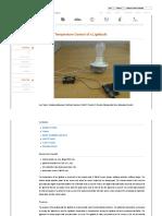 Control Tutorials for MATLAB and Simulink - Temperature Control of a Lightbulb