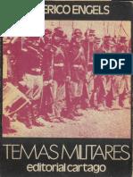 Federico Engels Temas Militares