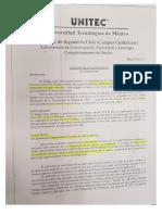 UNITEC - Análsis Granulométrico Práctica 2 y 3