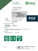 039r0 - 4.2-FT Cerviflex RC4V-K 1000 V