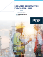 Us Ethylene Construction Cost Data 2018-2020