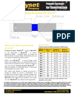 Ply-Krete Joint System Detail Metric