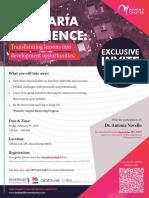 PRMA WC ExclusiveInvite MariaExperience 2-9-2017