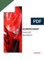 Halliburton Cementing Presentation