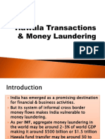 Hawala Transactions & Money Laundering