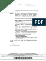 Certificado Oferta de Plazas Curso 2018 19