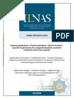 IEC 62621 Aisladores Para Catenaria (Índice)