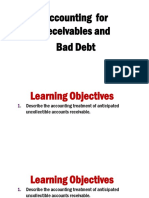 _19 - Account Receivables and Bad Debt