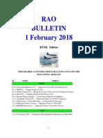 Bulletin 180201 (HTML Edition)