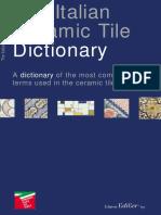 Dictionary Italian Ceramic Tiles