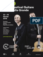Guitar Alla Grande XIII Program  (2018)