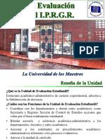 Presentación Reglamento Evaluacion  Competencias UPEL