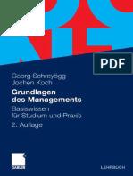 Grundlagen Des Managements - Georg Schreyögg und Jochen Koch