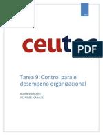 Control Para El Desempeño Organizacional
