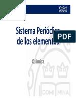 Presentación Sistema Periodico Elementos
