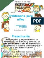 Problemario Para Niños.