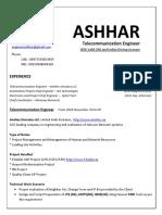 TelecommunicationEngineer Ashhar V