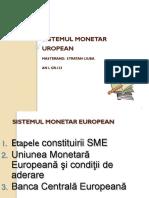 Sistemul Monetar European