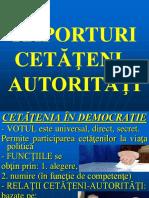 5. Raporturi Cetateni-Autoritati