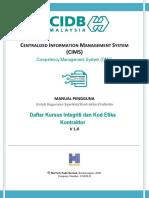 User Manual Kursus I-e Dafta-kursus
