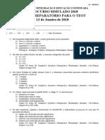 Sbot RJ 100 questões 2018